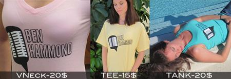 Kristen Modeling Shirts